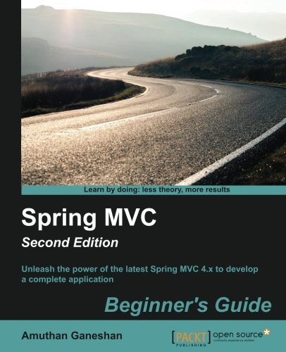 Book Cover Spring MVC image
